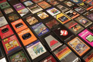 Anciens jeux vidéo - Rétro gaming